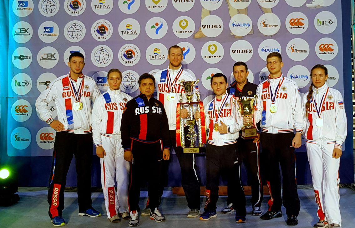 Успешное выступление наших спортсменов на Чемпионате и Первенстве Мира по гиревому спорту в г. Сеул